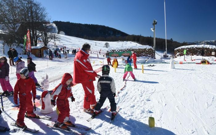 esf - rouge gazon - ecole de ski vosges