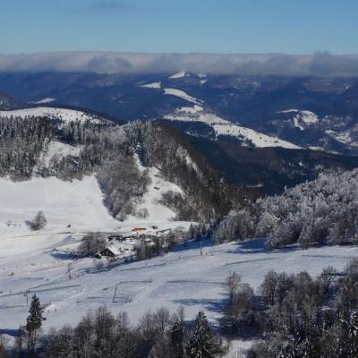 rouge gazon - domaine skiable - vacances - sejour - tourisme - vosges