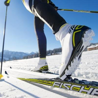 randonnee ski de fond - rouge gazon
